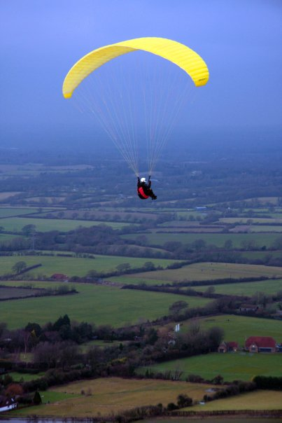 ADHD hang-glider
