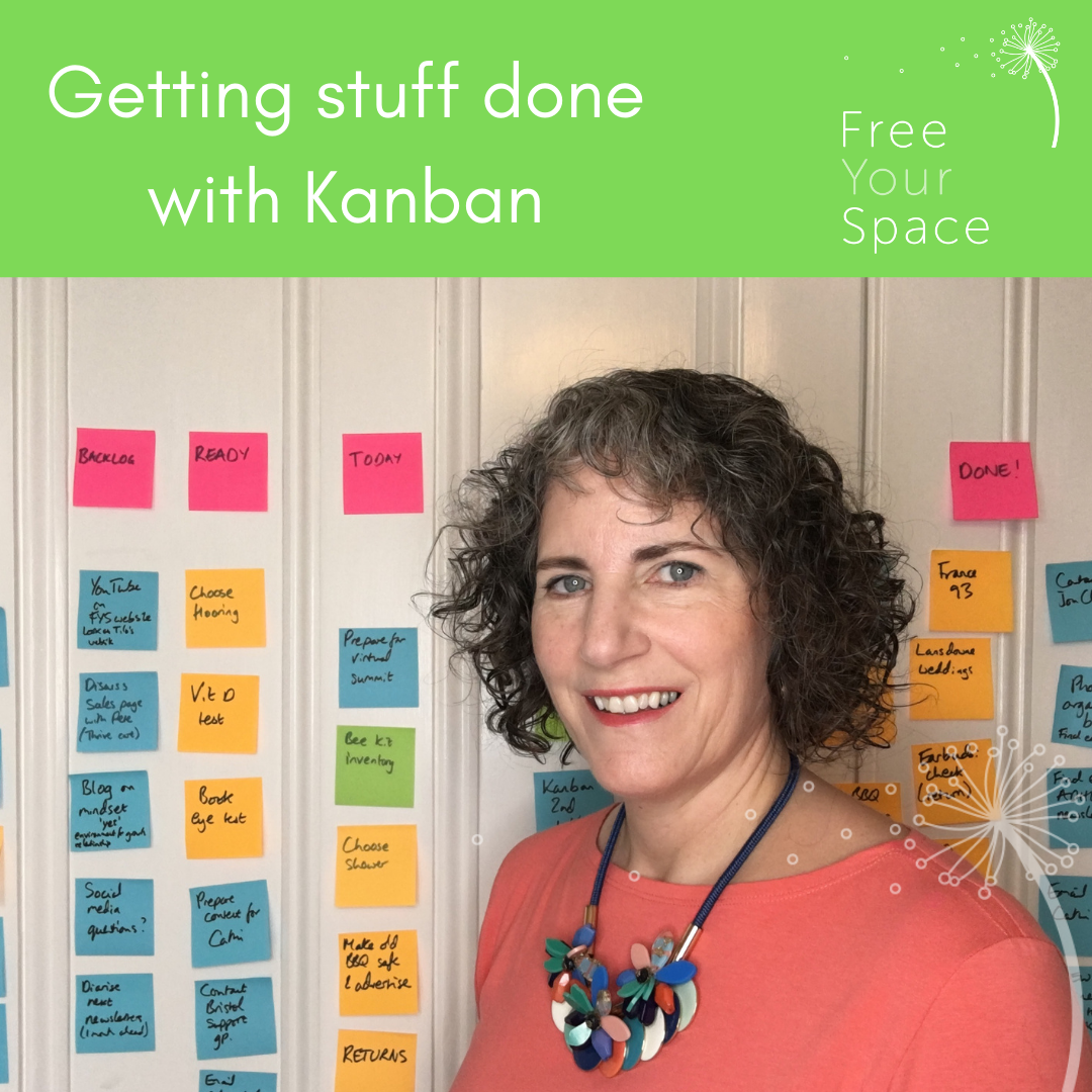 Getting stuff done with Kanban